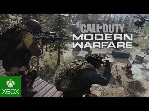 Call Of Duty Modern Warfare Multiplayer Beta Trailer Call Of Duty Modern Warfare Warfare