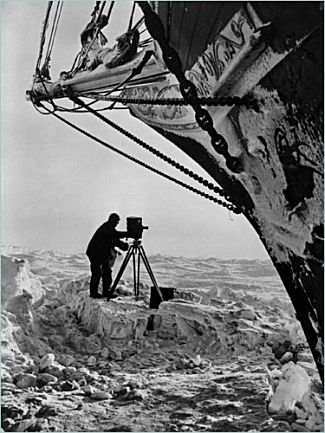 "Frank Hurley, ""Endurance"" expidition photographer"