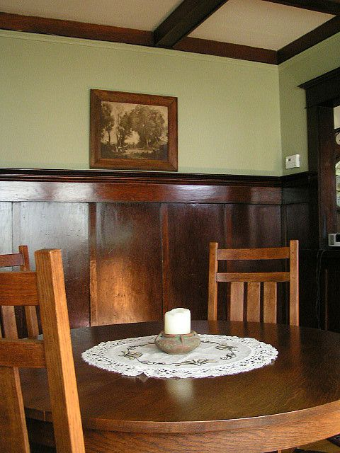 Bungalow Mission Style Dining Room Craftsman Dining Rooms Pinterest S