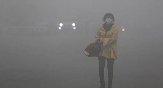 Pollution : 33 photos qui montrent la situation en Chine