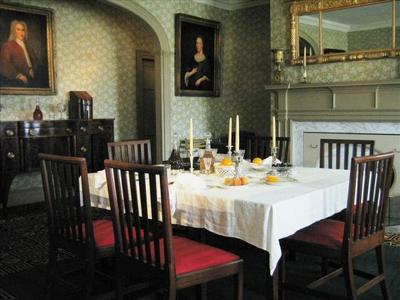 The chairs in the John Jay Homestead Dining Room reflect the spirit of the man--modest, quietly stylish, and built to last forever.