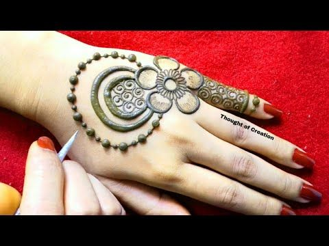 Shaded Flower Stylish Mehndi Design For Backhands Thought Of Creation Youtube Stylish Mehndi Designs Mehndi Designs Mehndi Designs For Hands