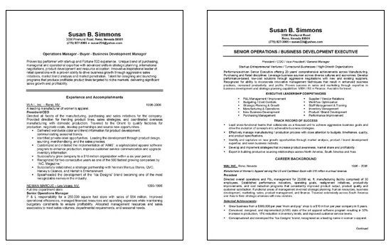 Chief Operations Officer Coo Resume Example Job Resume Samples Resume Template Examples Chief Operating Officer