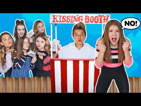 Who Can Make The Most Money In 24 Hours Challenge Kissing Booth