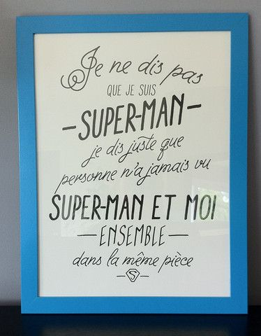 Affiche Super Héros
