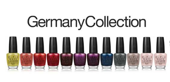 @opi germany collection fall 2012