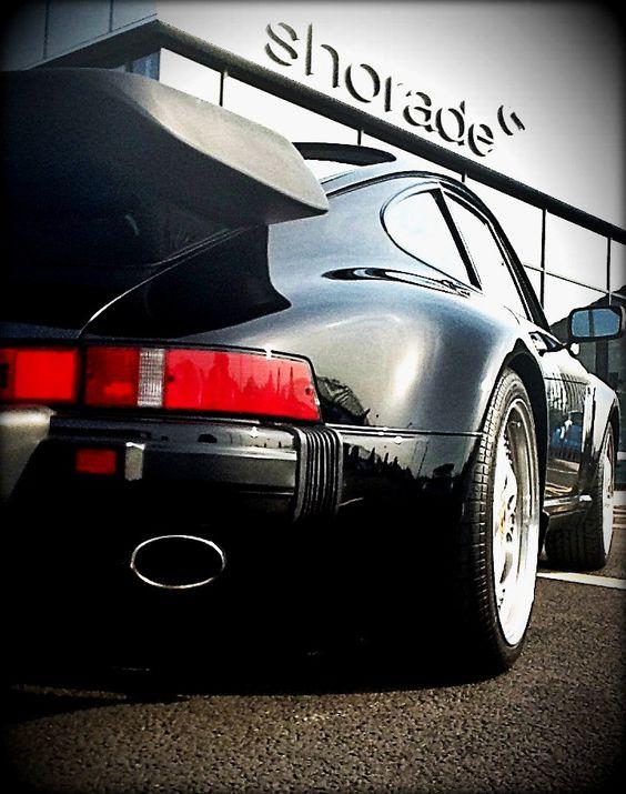 Colin's Car: Porsche 1986 911 Turbo coupe taillight strip.