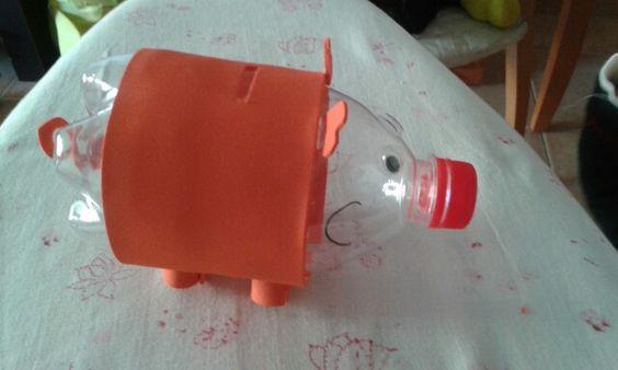 Botella cerdito