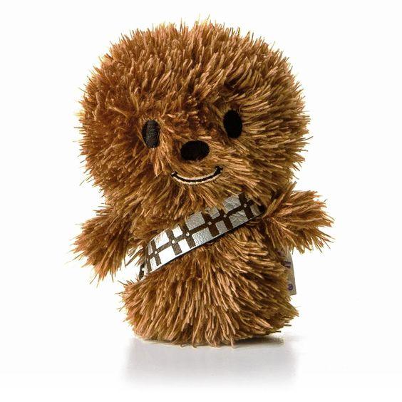 Hallmark Itty Bittys Star Wars Chewbacca Plush Collectible