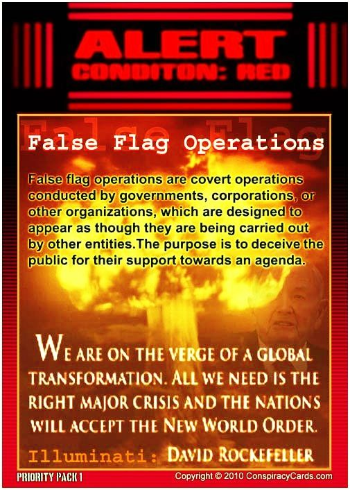 False Flag Operations: