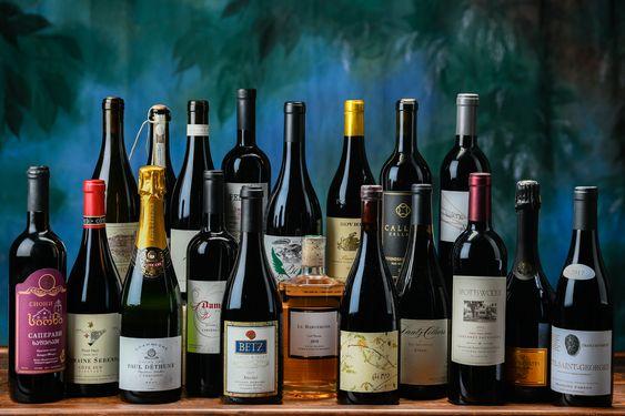 rượu vang tại Hầm Vang