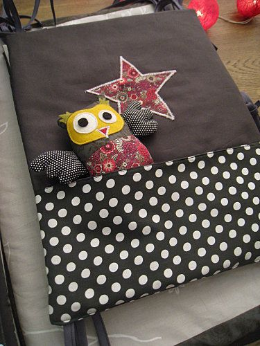 tuto du doudou hibou id es doudou couture pinterest bricolage enfants et chouette. Black Bedroom Furniture Sets. Home Design Ideas