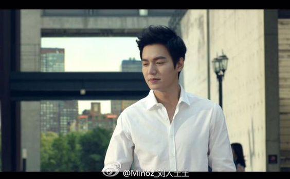 nice Lee Min Hoo - Shots advertising Pepsi