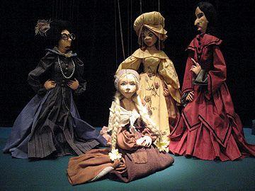 Cinderella puppets