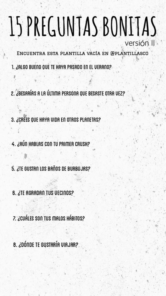 15 Preguntas Bonitas Version Ii Preguntas Divertidas Preguntas Para Whatsapp Preguntas Incomodas
