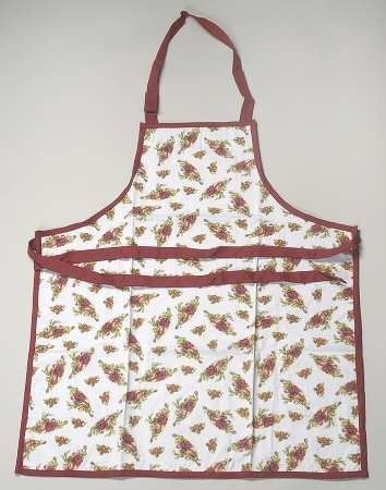 Royal Albert Old Country Roses Cloth Kitchen Apron