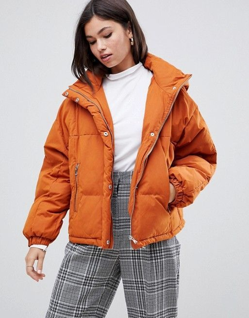 colors that go with purple and orange puffer jackets