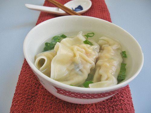 Dumpling Sui Kow Soup, 水饺汤 | A comer | Pinterest | Dumplings ...