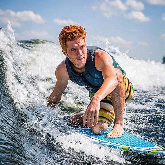 Ginger Men Surfer