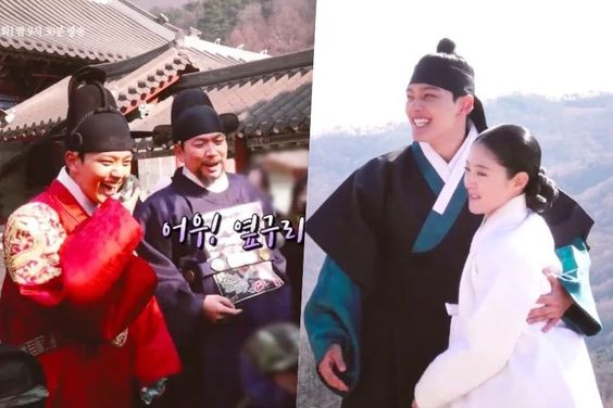 "Watch: ""The Crowned Clown"" Cast Is In Bright Spirits Despite The Freezing Weather In Making Video"