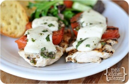 Grilled Caprese Chicken  by MEL