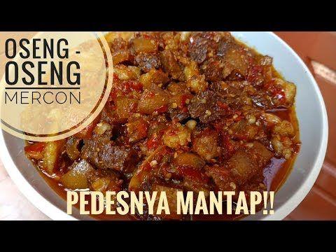 Resep Oseng Oseng Mercon Enak Dan Pedeeesss Banget Youtube Resep Masakan Makanan Resep Daging Sapi
