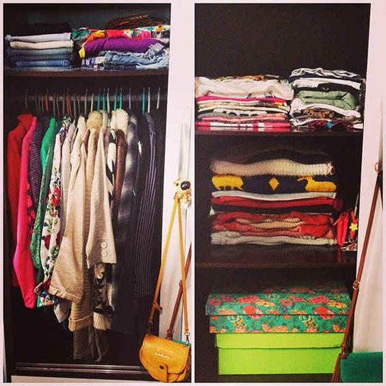 Antes de tudo, olhe para as roupas do seu armário como você olha para as roupas de uma loja.