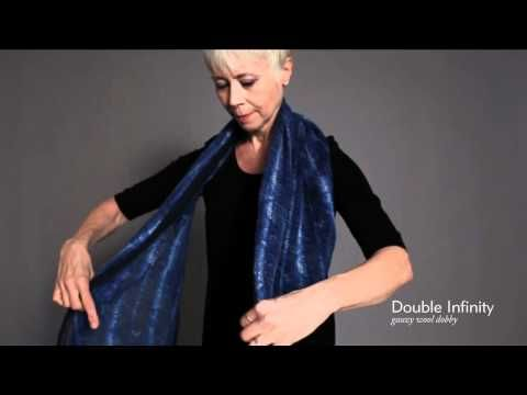 How to tie a scarf by Eileen Fisher