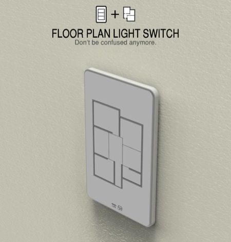 The Floor Plan Light Switch are customized as per the floor plan of the room and function likewise.