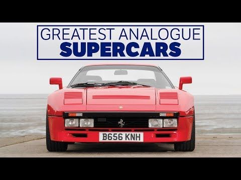 the 7 greatest analogue supercars of all time super cars car magazine all about time pinterest