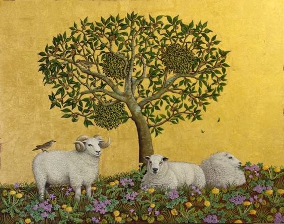 Mallow and Mistletoe by Marcelle Milo Gray