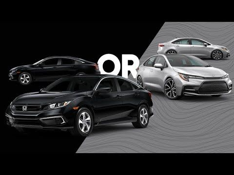 2021 Toyota Corolla Or 2021 Honda Civic Review Https Youtu Be S 6sxet Gg In 2021 Toyota Corolla Honda Civic Honda