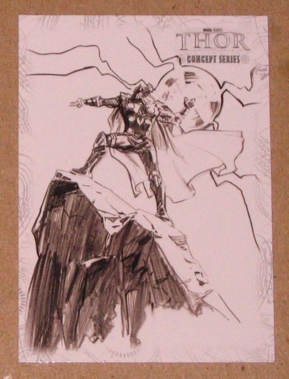 Thor Movie (Upper Deck 2011) Concept Series Card C7 VG