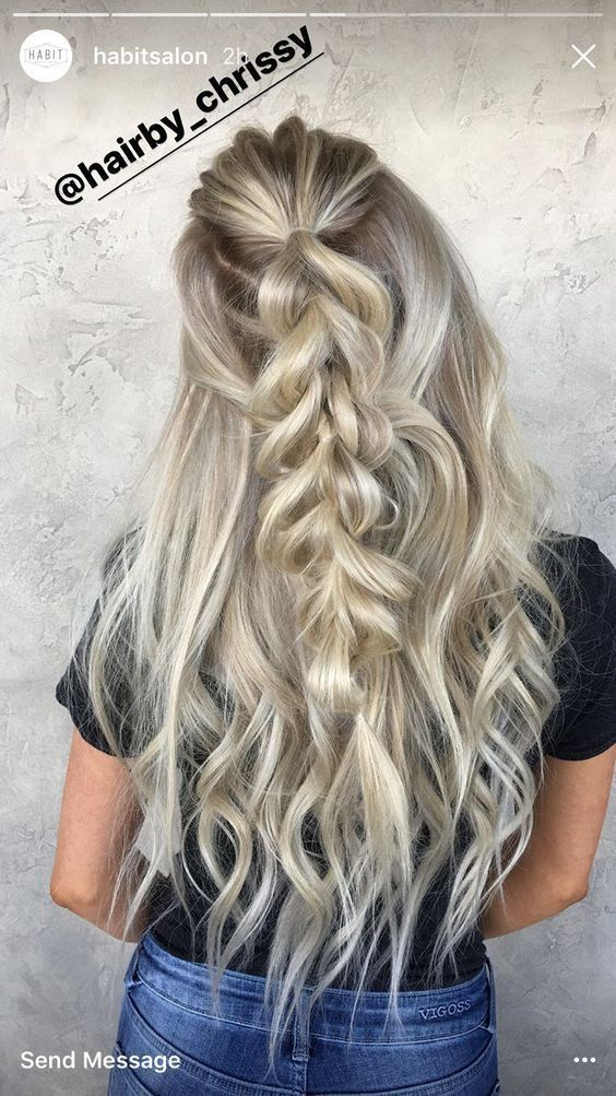 10 Most Effective Summer Hairstyles For Long Hair To Wear New Site Hairdo For Long Hair Bun Hairstyles For Long Hair Braids For Long Hair