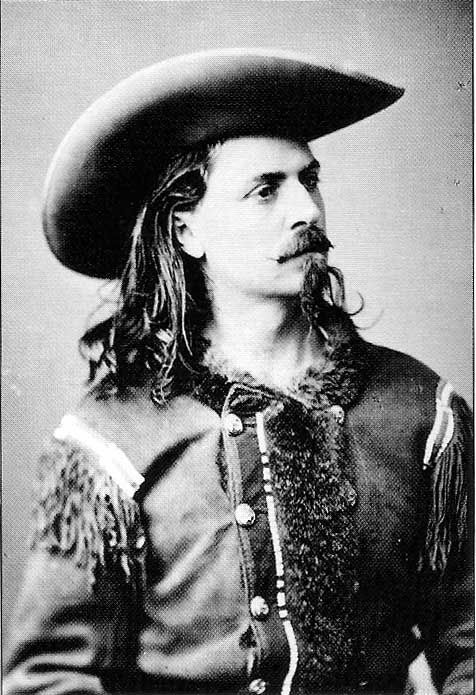 "William Frederick ""Buffalo Bill"" Cody (February 26, 1846 – January 10, 1917) was an American soldier, bison hunter and showman. He was born in the Iowa Territory (now the U.S. state of Iowa), in Le Claire but lived several years in Canada before his family moved to the Kansas Territory. Buffalo Bill received the Medal of Honor in 1872 for service to the US Army as a scout.  He later worked with Sitting Bull in his Wild West shows."