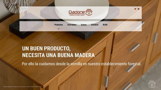 Lanzamiento nueva web Dadone