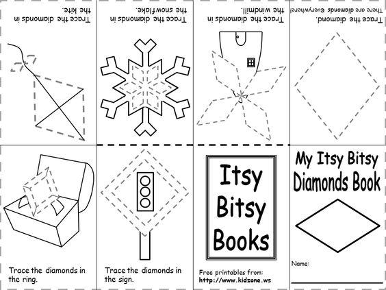 shapes recognition practice worksheet | Preschool - Letter D Ideas ...