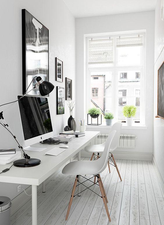 10 oficinas en casa que se merecen un 10 #hogarhabitissimo #homeofice #nordic