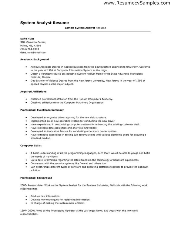 nice high quality data analyst resume sample from professionals data analyst resume - Data Analyst Resume Template