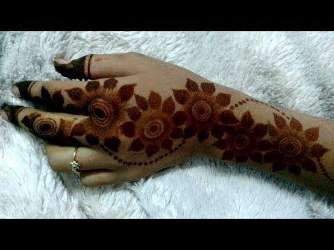 Gulf Rose Henna Design Trend 2019 Latest Mehndi Designs Mehndi Designs For Hands Mehndi Designs 2018