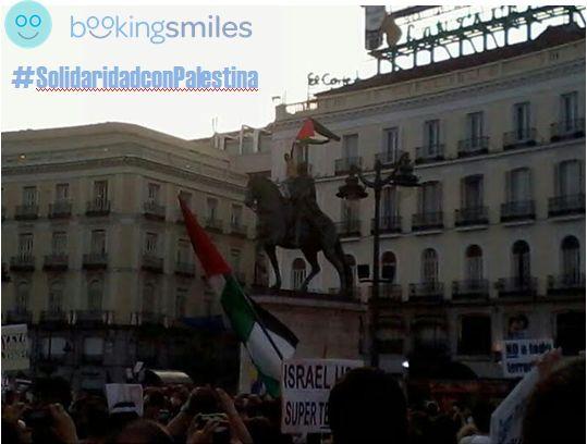 Concentraciones de apoyo a Palestina en toda España - Booking Smiles