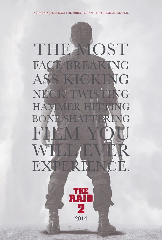 Unofficial, Yet Rather Amusing, Poster Art For THE RAID 2