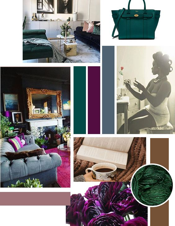 Gorgeous Jewel Tones Living Room Color Purple Living Room Room Color Schemes