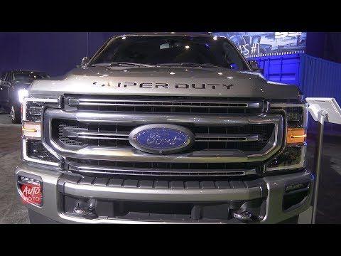 2020 Ford F 350 Platinum Super Duty Exterior And Interior Walkaround 2019 Toronto Auto Show Youtube Dodge Diesel Trucks Diesel Trucks Ford Trucks F150