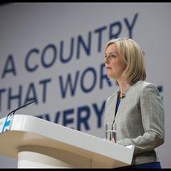 UK Justice Secretary Liz Truss and Home Secretary Amber Rudd speak at CPC
