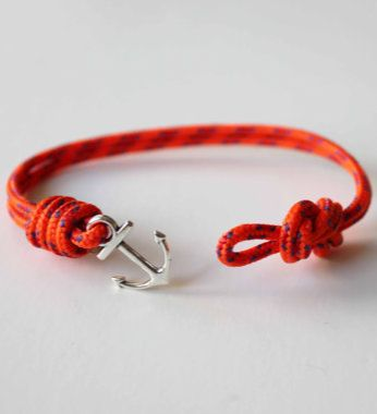 Knots N Anchor Bungee Bracelet