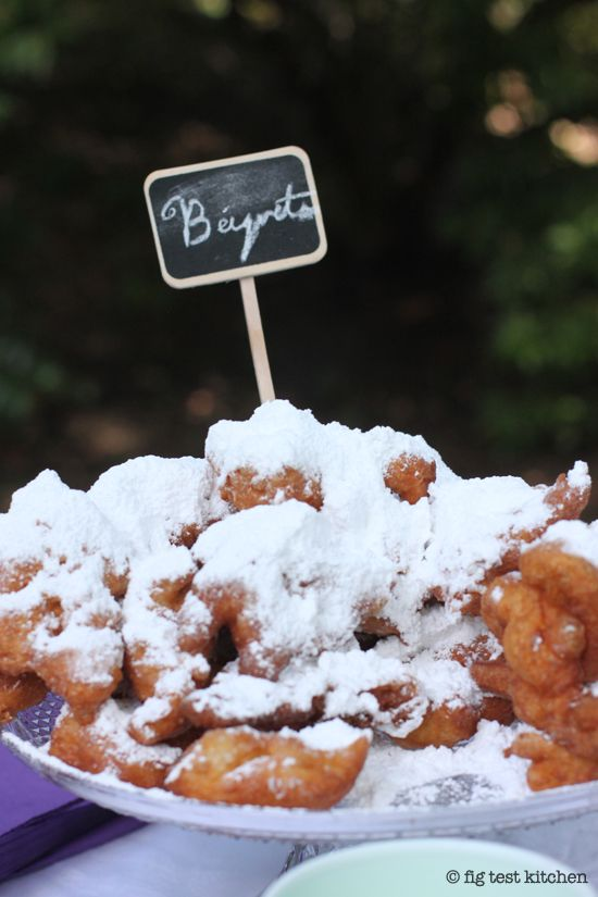 Homemade Beignets ~ Mom made these all the time for us. ~ Most people ...