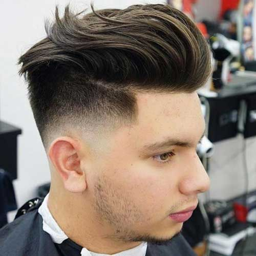27 Burst Fade Haircuts 2020 Guide Low Fade Haircut Fade Haircut Slicked Back Hair