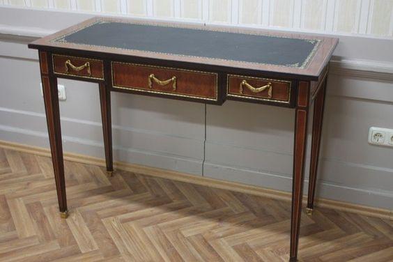 Barock Schreibtisch Antik Stil Bureau Plat MoSr072