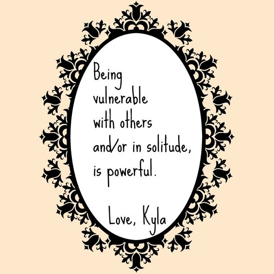 Being vulnerable with others and/or in solitude is powerful. #acupressure #vulnerability  http://releaseacupressure.com/how-to-find-power-in-your-grief/